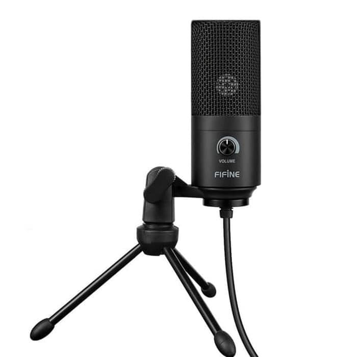 Foto Produk fifine K669B USB Condenser Mic with Volume Control Rekam Karoke dari ORIGINAL CHARGER