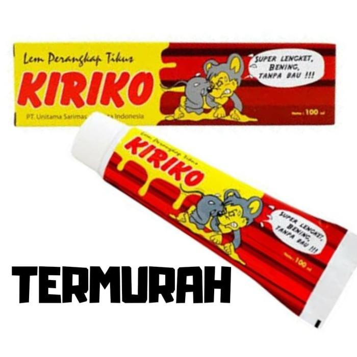 Jual Kiriko Lem Tikus 123 Tube 3 Pcs Kota Yogyakarta Brosjogja Tokopedia