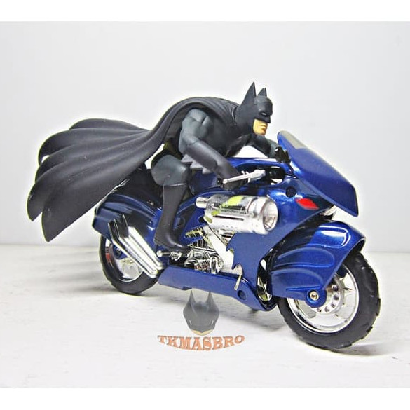 Foto Produk Die Cast Batman Batcycle 1:16 Corgi DC Comics 2000 dari tkmasbro