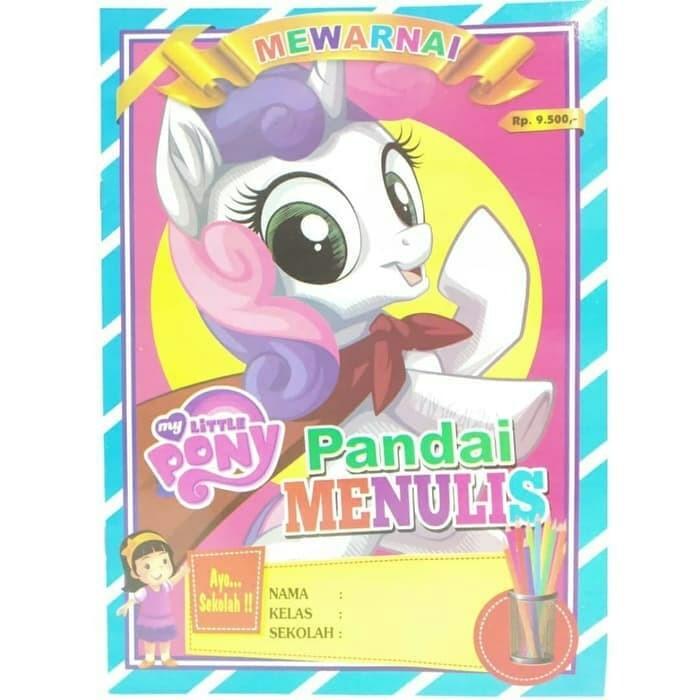 Jual Buku Mewarnai My Little Pony Kuda Poni Dss Kota Bekasi Anwarshoop Tokopedia