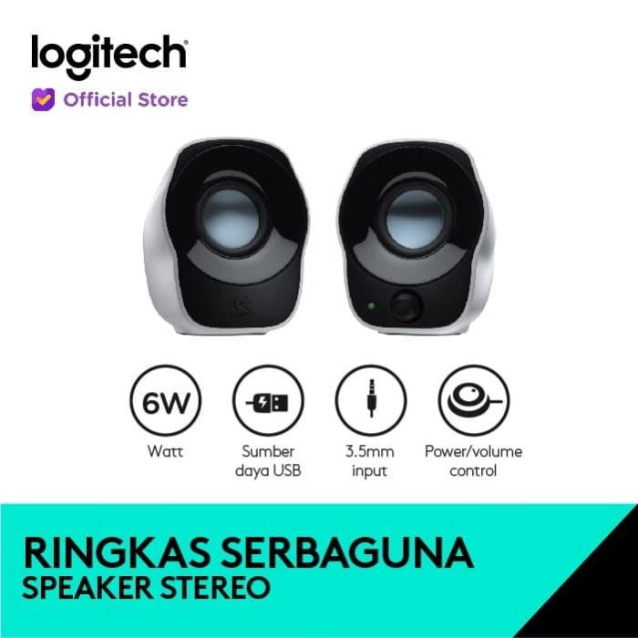 Foto Produk Logitech Z121 Compact Stereo Speaker dari Logitech Official Store