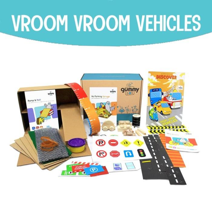 Foto Produk Vroom Vroom Vehicles | GummyBox dari GummyBox