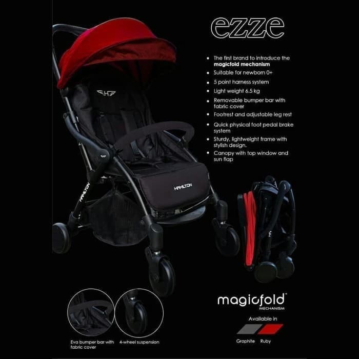 Jual Hamilton Ezze stroller - Jakarta Selatan - anmfa ...