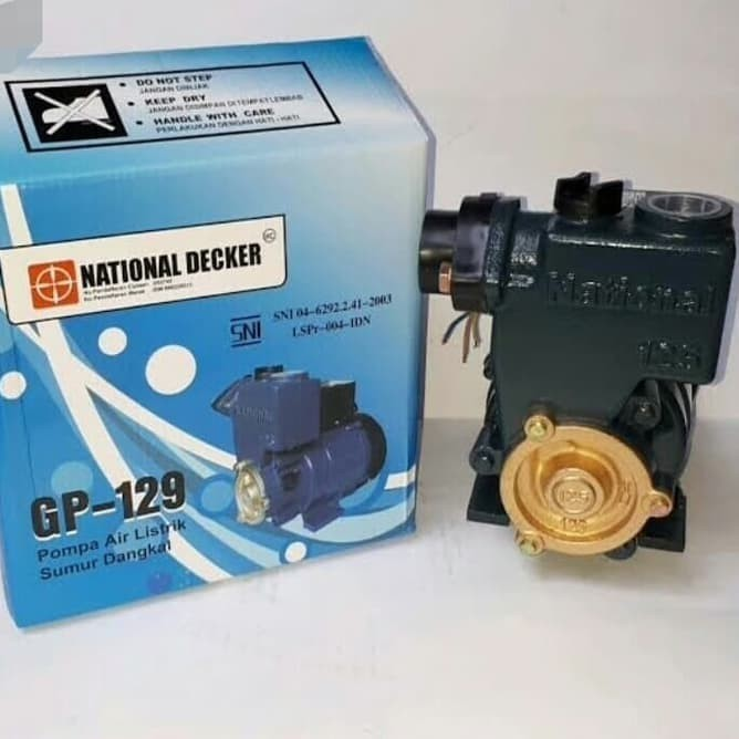 Jual POMPA AIR SUMUR DANGKAL NATIONAL 125 watt GP129 ...