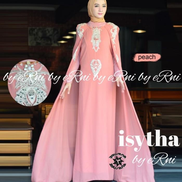 Foto Produk Kaftan Isyitha vol.2 ceruty babydoll bordir payet Swarovski dari Winnie Collection