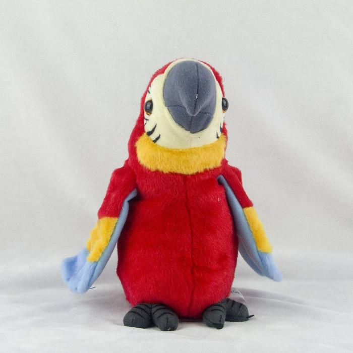 Foto Produk BONEKA TALKING PARROT Burung Beo Yang Bisa Mengikut Kita Bicara - Merah dari BEC House Official Store
