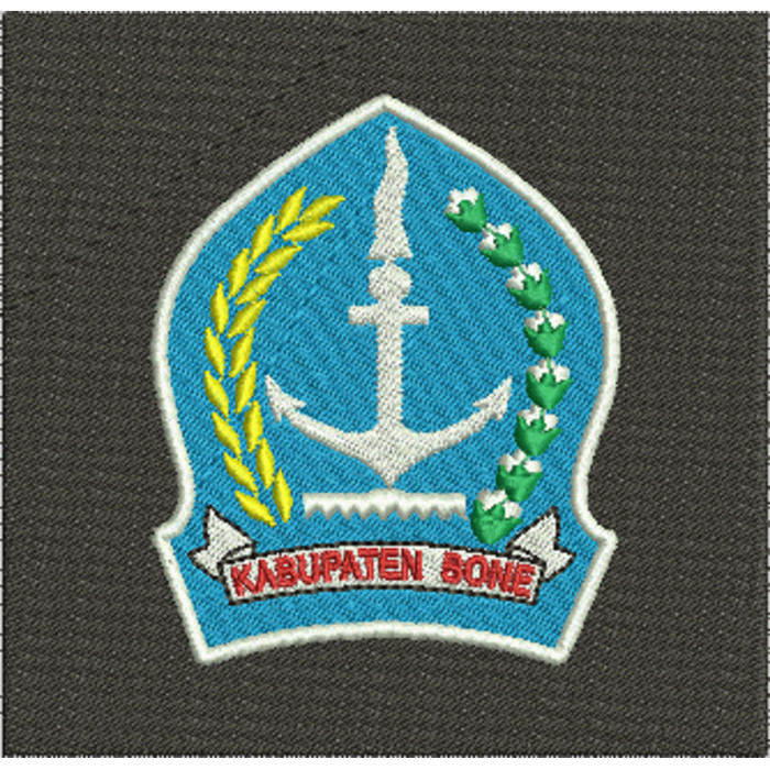 Jual Bordir Kabupaten Bone Emblem Bordir Komputer Kota Tangerang Asakabukularismanis Tokopedia