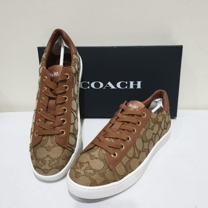 Jual Sepatu Coach Original Seri C126 Low Top Sneaker Kota