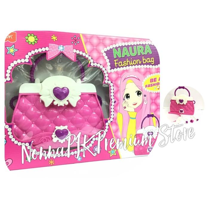 Foto Produk mainan anak fashion bag naura / tas / bando pink dari NonnaPIK