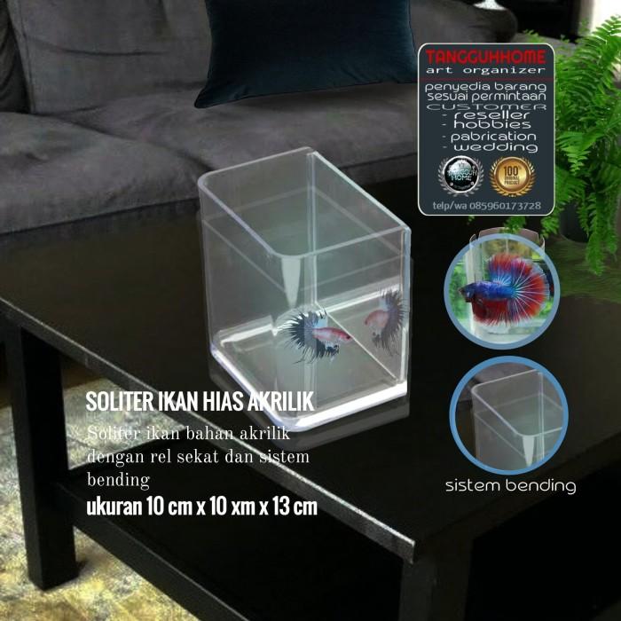 Jual Aquarium Akrilik Atau Soliter Akrilik Cupang Dan Ikan Hias Lainnya Kab Bekasi Tangguhhome Tokopedia