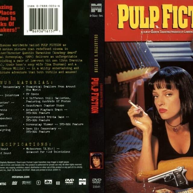 Jual Film Dvd Pulp Fiction 1994 Movie Collection Film Koleksi Jakarta Barat M Collector Tokopedia