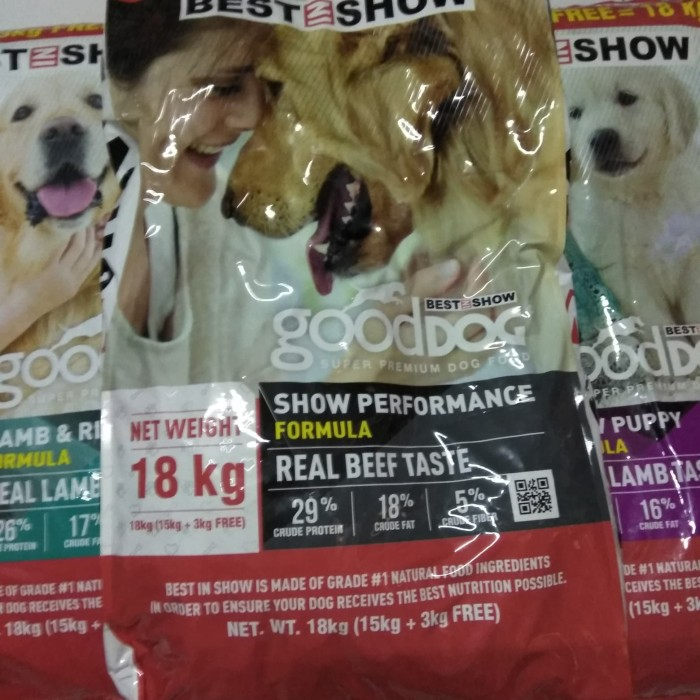Best Rated Dog Food >> Jual Dogfood Good Dog Best In Show 18 Kg Jakarta Timur Dog Pet Shop Tokopedia