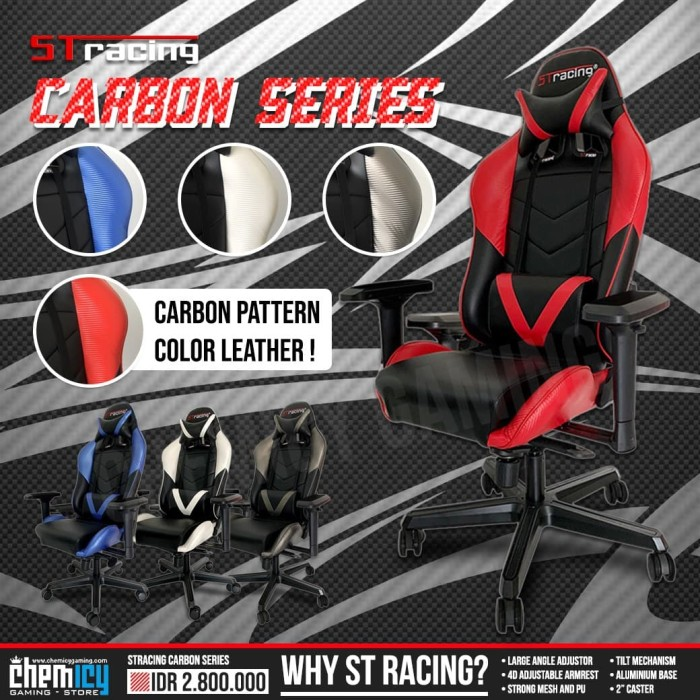Jual READY STOCK STracing / ST Racing Gaming Chair ...