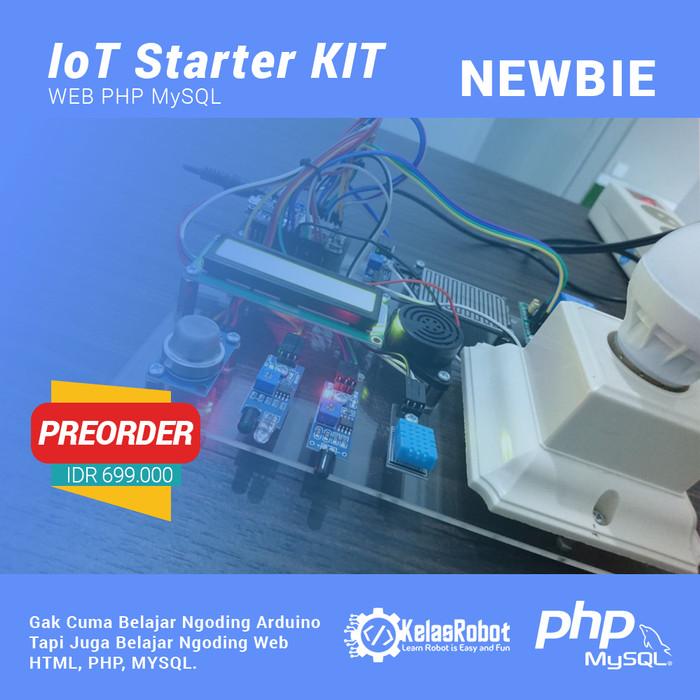 Foto Produk IoT (Internet of Things) Starter KIT Web PHP MySQL for Newbie dari Kelas Robot
