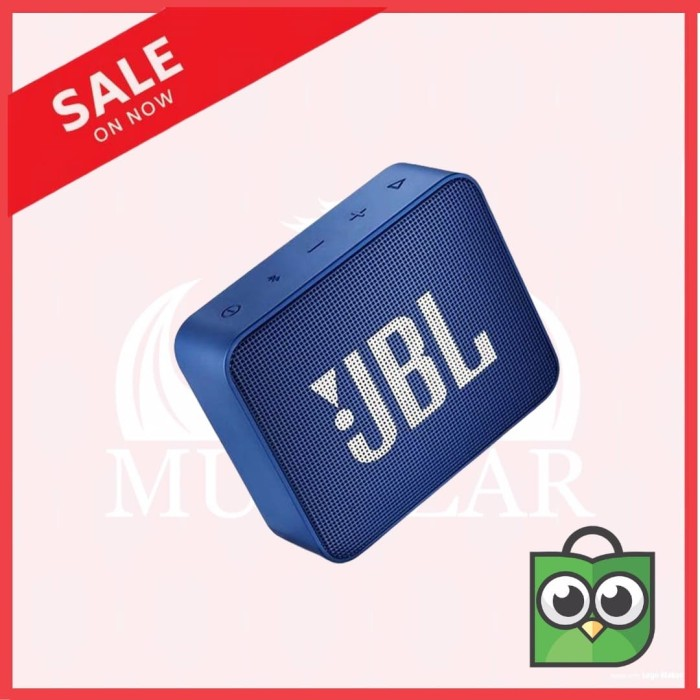 Foto Produk [ORIGINAL] Speaker Bluetooth Portable JBL GO 2 Wireless Extra Bass - Hitam dari MURAZAR