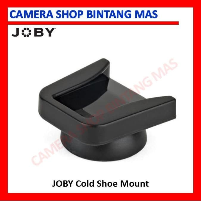 Foto Produk Joby Cold Shoe Mount - Adapter for Flash Microphone dari Camera Shop Bintang Mas