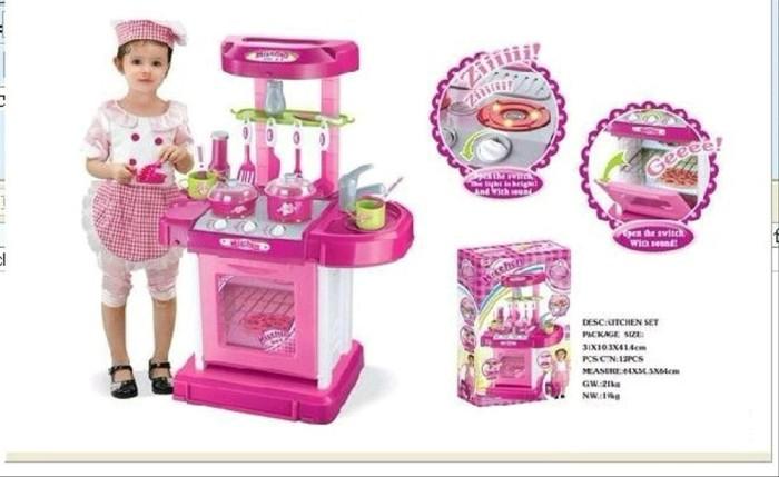 Jual Kitchen Koper Playset Little Chef Mainan Anak Masak Kota Depok Nicolo Tokopedia