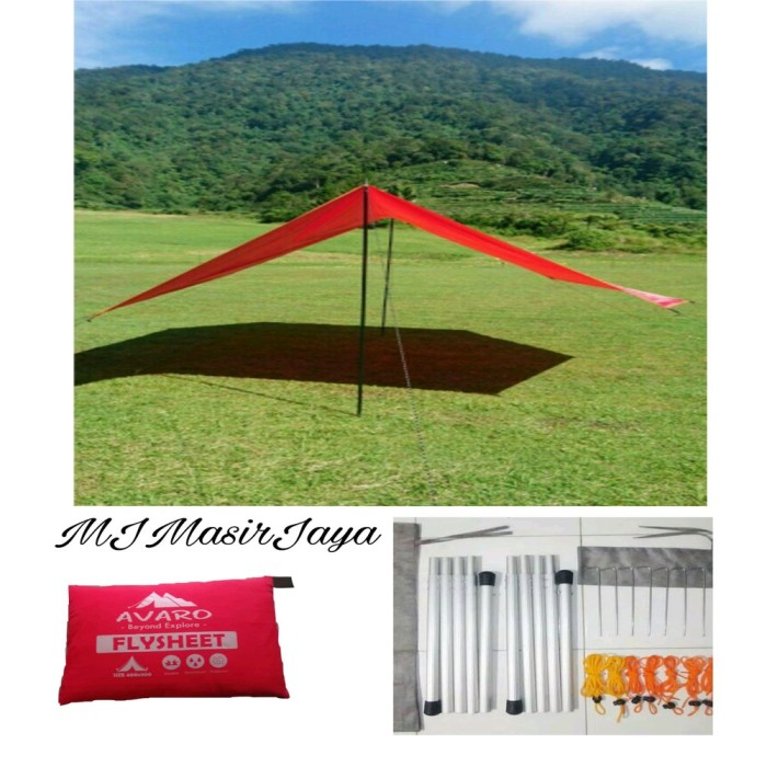 Gambar Kanopi Jendela Dari Kayu  jual flysheet 2x3 tiang frame pasak tali satu set murah jakarta pusat aisha selma zuleika tokopedia