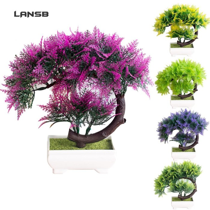 Jual Ss 1pc Artificial Flower Tree Bonsai Performance Stage Garden Jakarta Barat Friday Combi Yeay Tokopedia