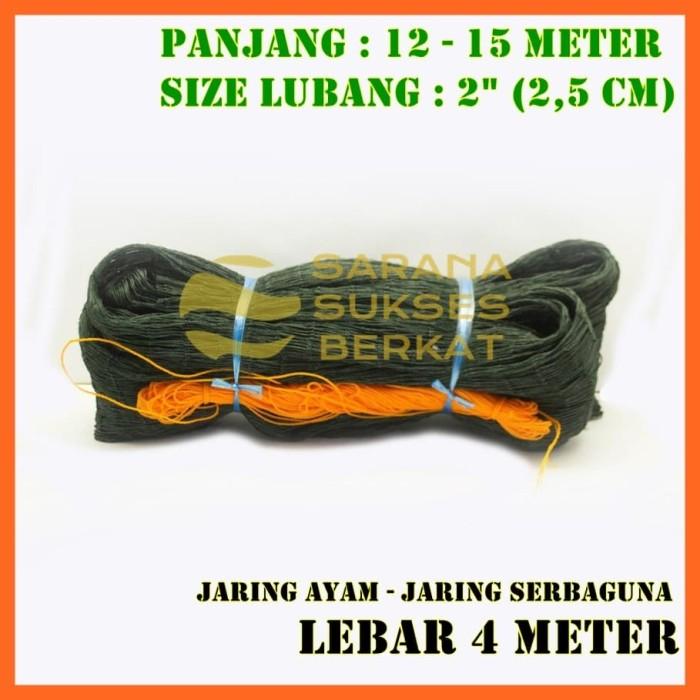 Foto Produk Jaring Pagar Ayam 4 Meter Size 2.5 Cm -Jaring Serbaguna-Jaring Taman dari Sarana Sukses Berkat