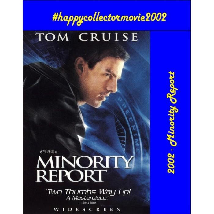 Jual Dvd Minority Report 2002 Jakarta Selatan Happyc Shop Tokopedia