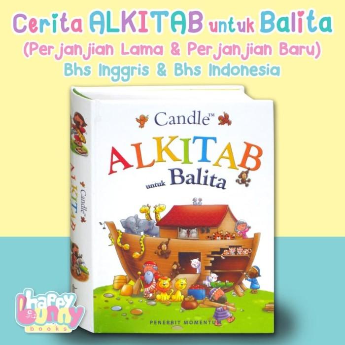 Foto Produk Alkitab untuk Balita Bilingual (English & Bahasa Indonesia) dari HappyBunnyBooks