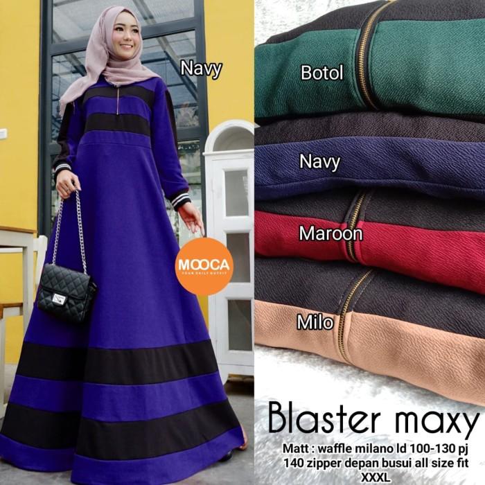 Foto Produk longdress gamis jumbu muslim bige size dari devis2