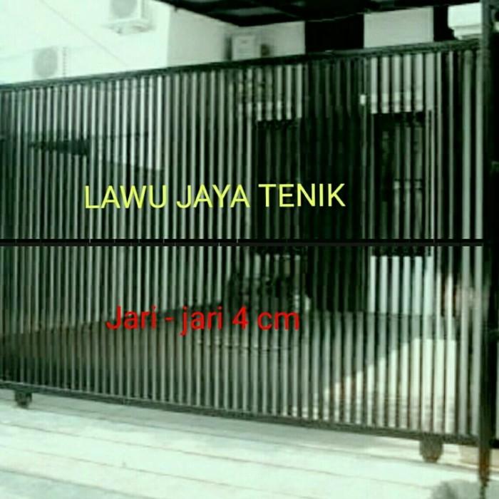 Jual Pagar Minimalis Besi Hollow Galvanis - Kota Bekasi - LAWU JAYA TEKNIK  | Tokopedia
