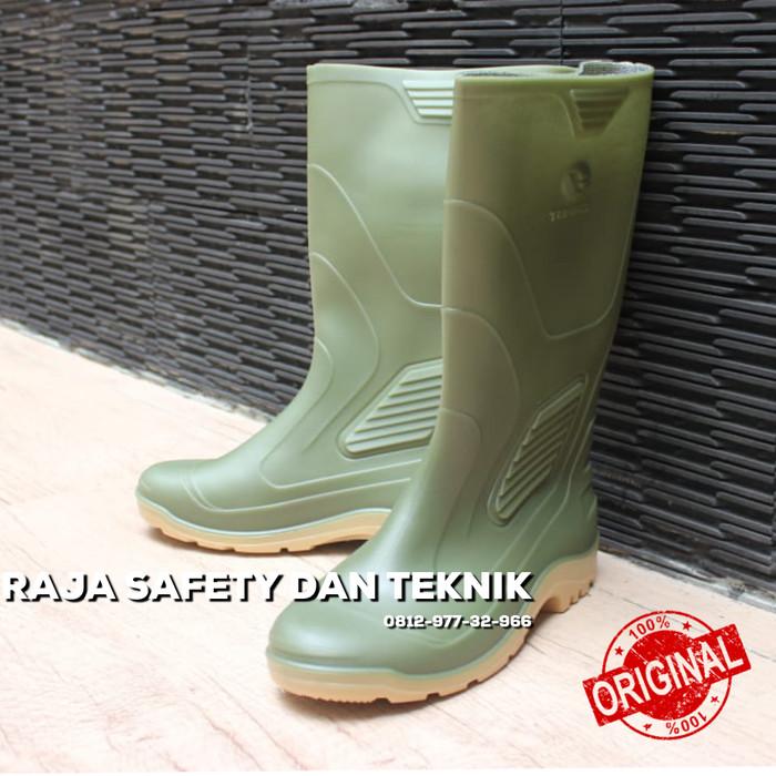 Jual Sepatu Boot Karet Ap Terra Hijau Eco 3 Original Murah