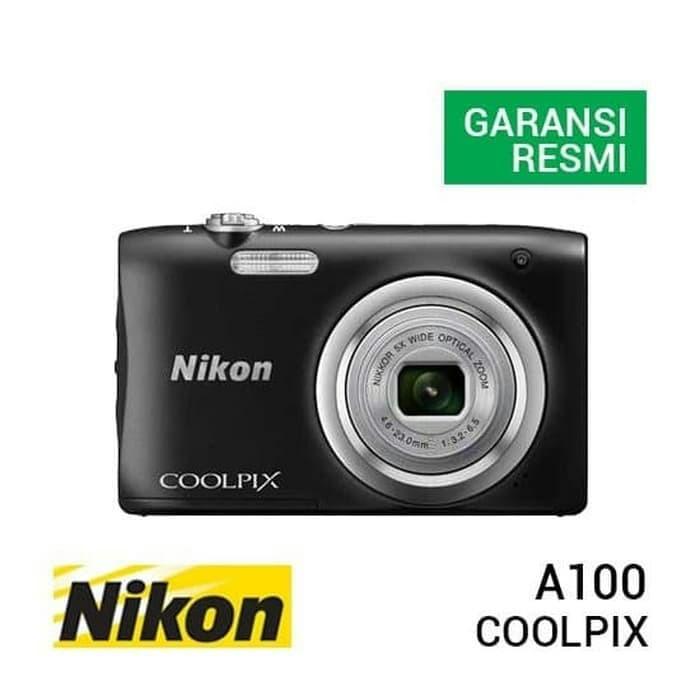 Foto Produk kamera digital Nikon coolpik A100 20 mega pixel dari MAULAACC