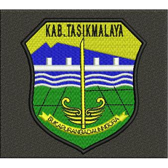 Jual Emblem Logo Bordir Kabupaten Tasikmalaya Bordir Komputer Kota Tangerang Asakabukularismanis Tokopedia