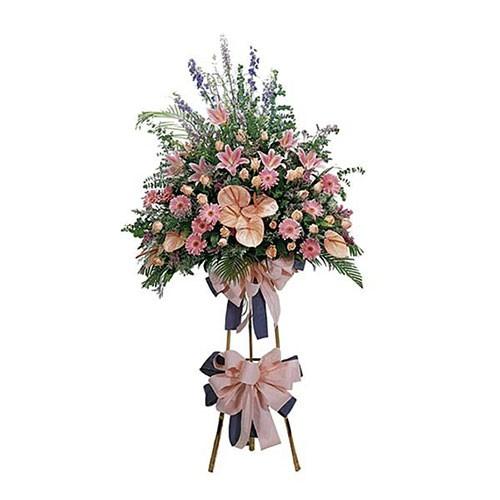 Jual Karangan Bunga Standing Flower Bs12 Jakarta Barat Aconite Florist Tokopedia