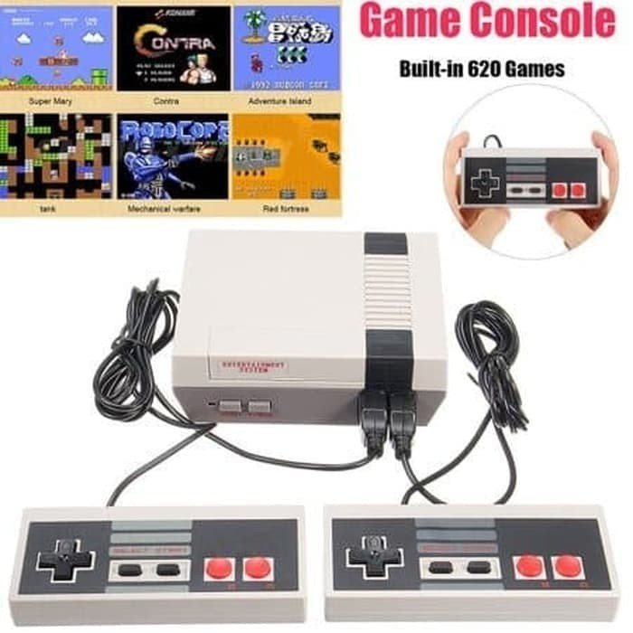 Foto Produk Nintendo NES Clone 620 Game Retro Mini Game Built in 620 Classic Games dari Mix acc88