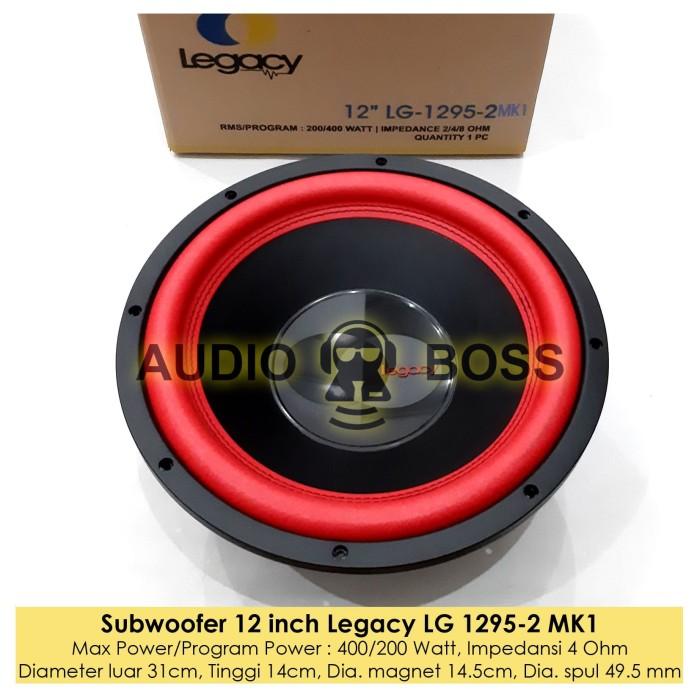 harga Speaker subwoofer 12 inch legacy lg1295-2 / subwoofer 12  lg 1295-2 Tokopedia.com