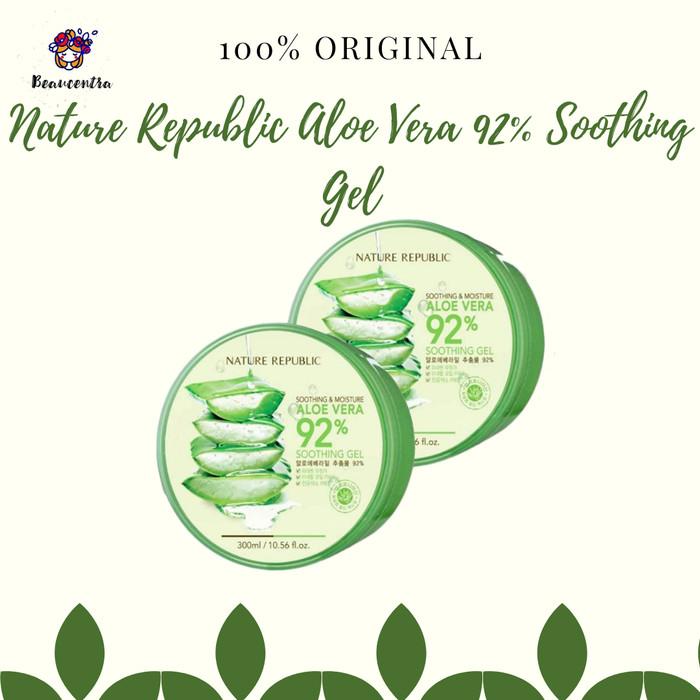 harga Nature republic aloe vera 92% soothing gel Tokopedia.com