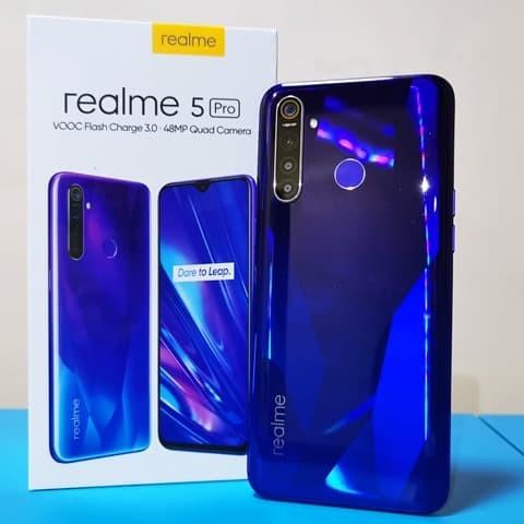 Jual Realme 5 Pro Ram 4 128 Biru Kota Tangerang Cante Cellular Tokopedia