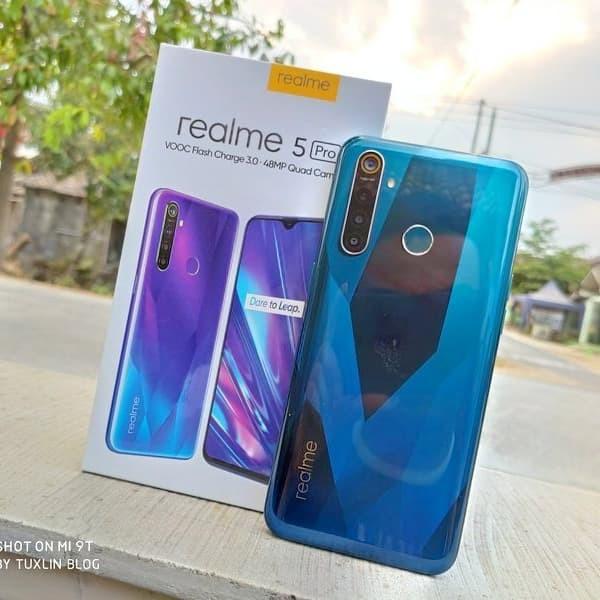 Jual Realme 5 Pro Ram 8 128 Biru Kota Tangerang Cante Cellular Tokopedia