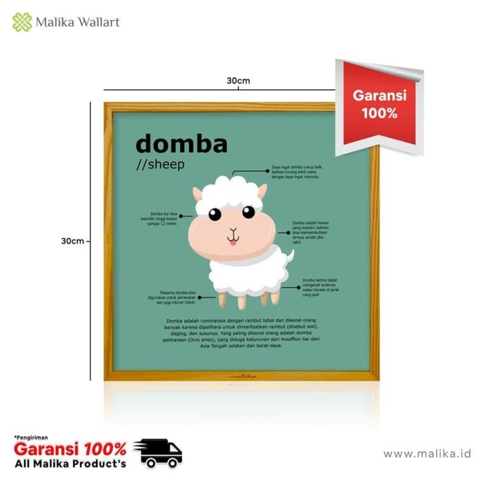 Foto Produk Poster Hiasan Dinding Domba Untuk Anak dari malikawallart
