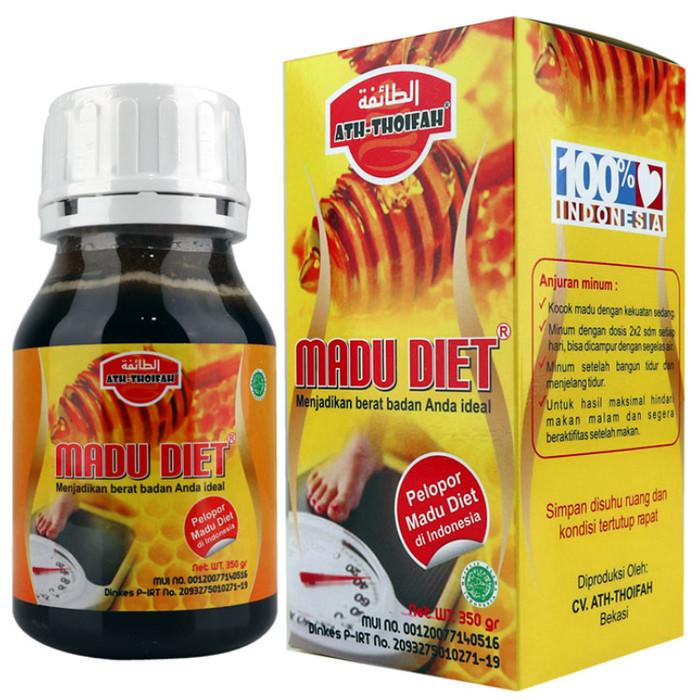 Foto Produk Madu Diet 350gr Madu Diet Ath-Thoifah Madu Diet 350gr Madu Diet 350gr dari harga grosir 01