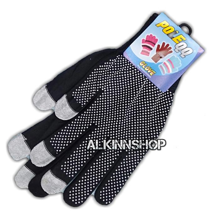 Foto Produk Sarung Tangan Motor Impor / Anti Slip Touchscreen Uninsex Pria Wanita dari alkinnshop