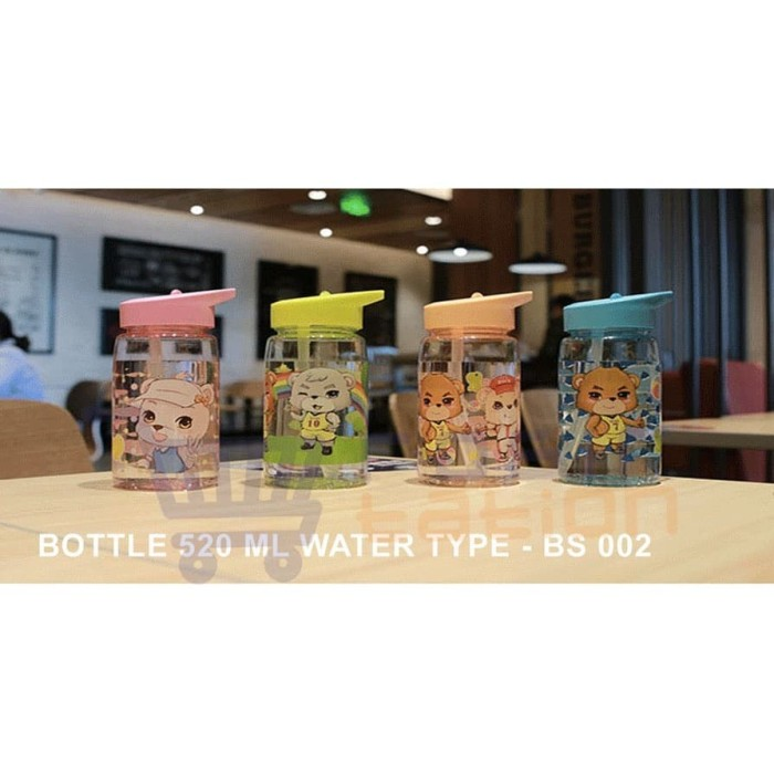Foto Produk Botol Minum Anak Karakter 520 ML RANDOM dari grosirstation