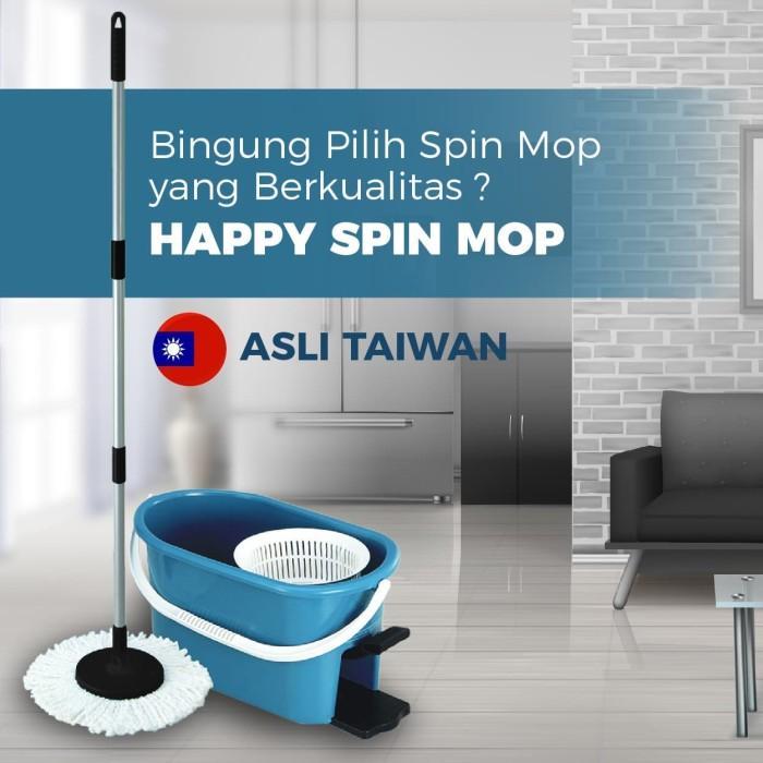 Promo Happy Spin Mop - Alat Pel Pembersih Lantai Ultra