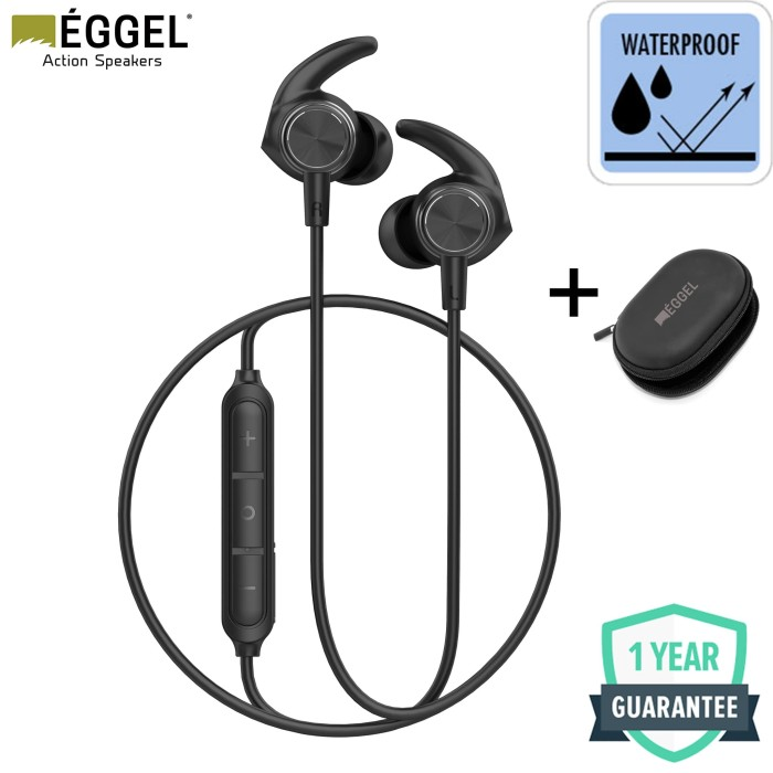 Foto Produk Eggel Liberty 2 Sports Waterproof Bluetooth Earphone dari EGGEL Official Store
