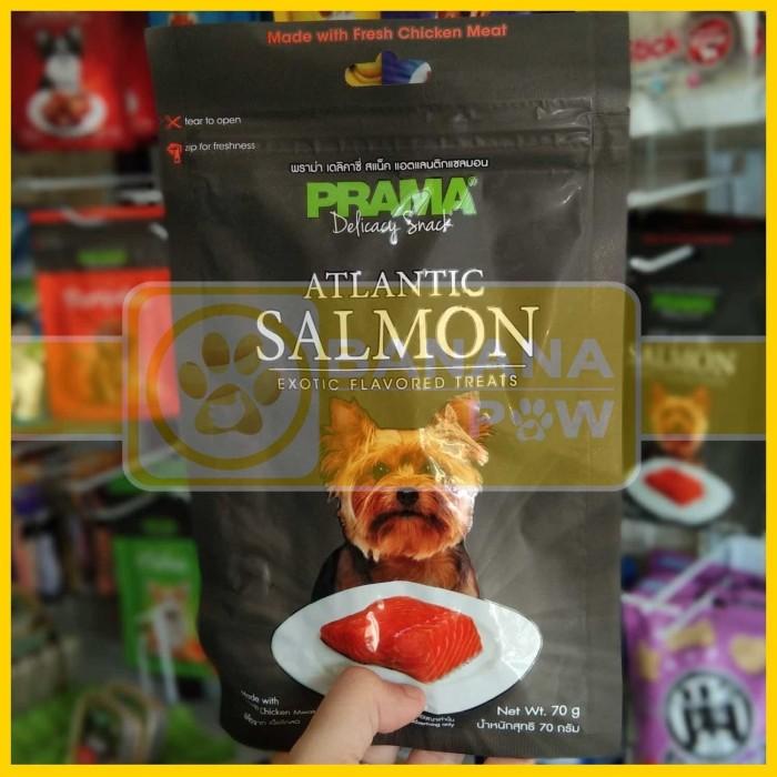 harga Snack anjing prama salmon 70 gram Tokopedia.com