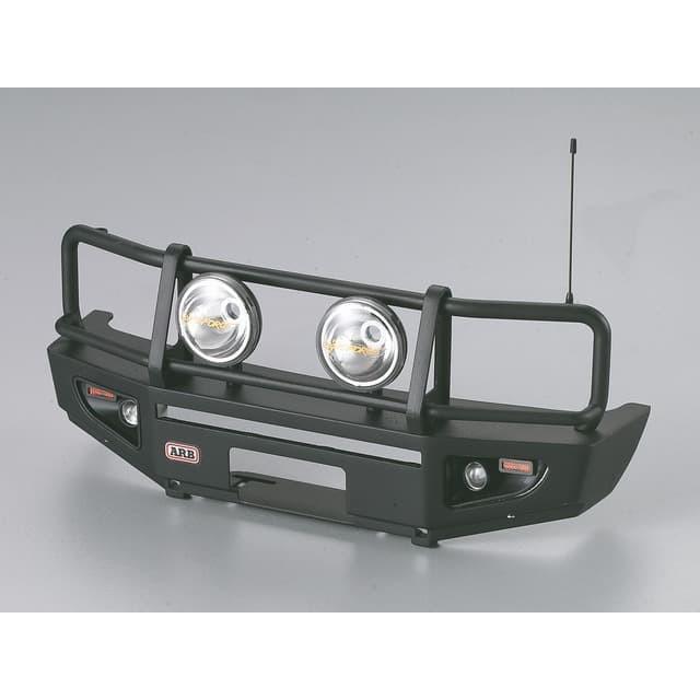 Foto Produk 48689 Killerbody Alu Bumper Matte Black w/ LED Upgrade Set for 1/10 dari Tamiyatoys