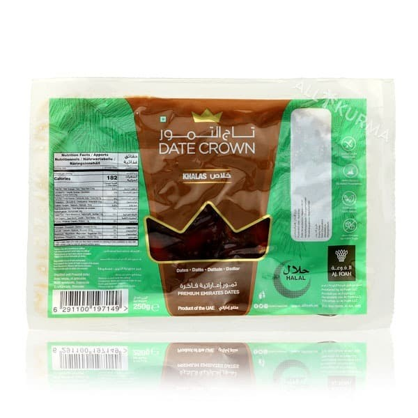 Foto Produk Date Crown Khalas in Thermo Packed 250 Gr dari All Kurma