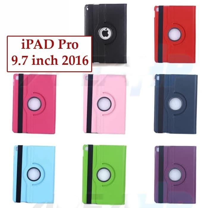 Foto Produk Ipad Pro 9.7 inch 2016 Rotary Flipcover Casing Case Bookcover Leather dari Case Ocean
