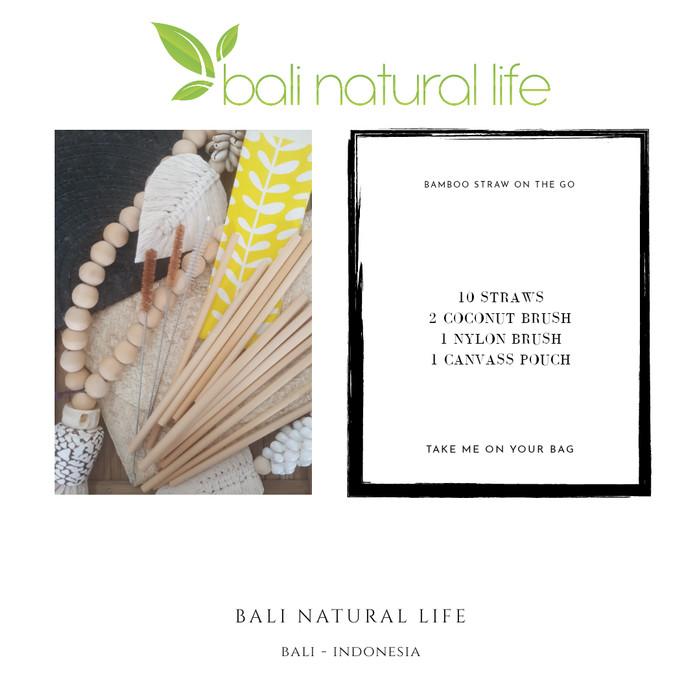 Jual Bamboo Straw Package Kab Tabanan Bali Natural Life Tokopedia