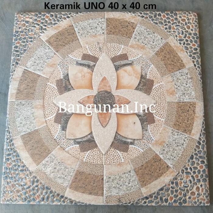 Jual Keramik 40 X 40 Cm Motif Bunga Kota Bekasi Bangunan Inc Tokopedia