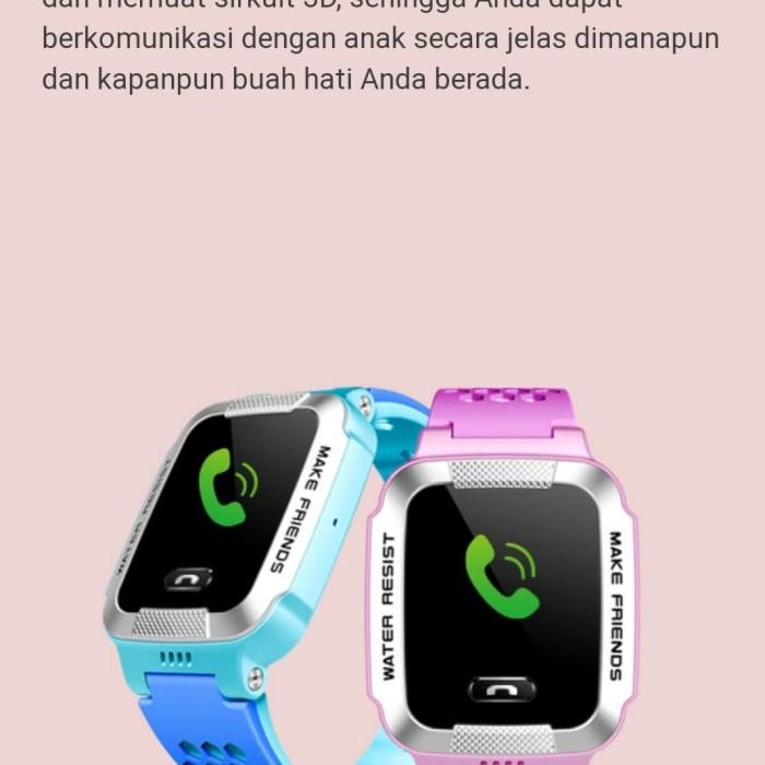 Foto Produk Imoo Y1 Watch Phone - Biru Muda dari RD Collection Shop